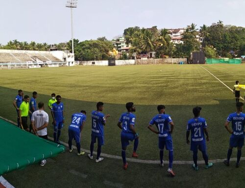 Uttam Rai Marks His Dempo Return With A Brace